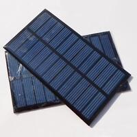 2/4 X Lot 1.6W 5.5V 266mA Solar Panel Module System Epoxy Charger DIY CA B010.