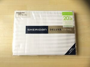 Sheridan Deluxe Ivory Double Bed Bedskirt - New