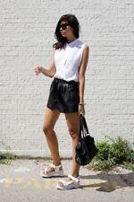 Zara Faux Leather Shorts Size XL (12-14)