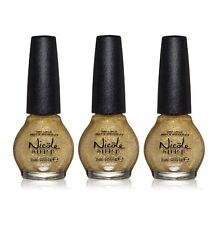 LOT OF 3 - Nicole By Opi Nail Lacquer Polish CARRIE'D AWAY