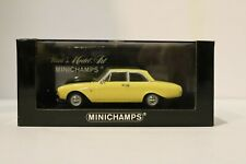 1/43 MINICHAMPS 430 085105 Ford Taunus Saloon 1960 Yellow w Free ship!