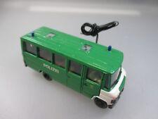 Preiser/Kibri: Mercedes Polizei Bus,  beleuchtet  (PK10)