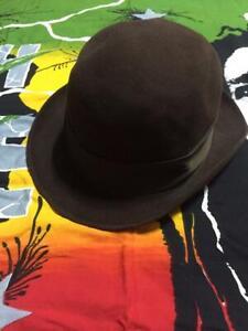 MEN'S G.B. Borsalino San Remo Fedora Hat Made In Italy Size 7 1/8 VINTAGE