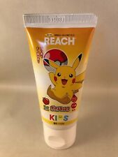 POKEMON PIKACHU Apple Flavoured Toothpaste -Japanese REACH kids tooth paste tube