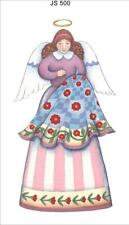 JIM SHORE COTTON FABRIC PANEL - QUILTING ANGEL (SMALL) - JS500