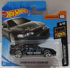 Hot Wheels 2018 CUSTOM' 01 Acura Integra Gsr NIGHTBURNERZ 6/10 fjx69