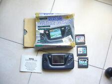 console sega game gear et 3 trois jeux