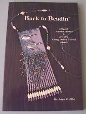 Back To Beadin bead book beadwork beaded Beading by Barbara Elbe