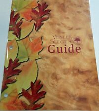 Wood veneer sample species color picture photo guide 80 pages with descriptions