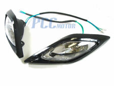 ATV/QUAD HEAD LIGHT FRONT HEADLIGHT 50 110 200CC BLACK V LT02