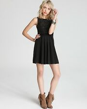 NWT- $168 Free People Sassy Satouche Pleated Embroidered and Beaded Dress-  M
