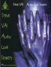 PIMGLM67 ♦ Song Book Hal Leonard Steve Vai Alien Love Secrets Tablatures