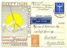 NEDERLAND 1933-6-15  FFC ENSCHEDE -LONDON  #106b  ZEER FRAAI