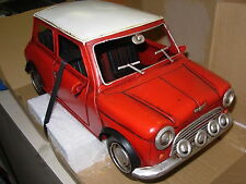 TINPLATE 1:12 AUTO IN LATTA MINI COOPER 1960  JLC991LP-R