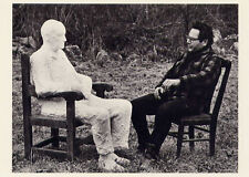 George Segal 1965≈American Sculptor of life size figures≈Photo POSTCARD