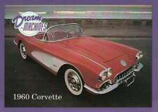 1960 Corvette, Dream Machines Cars, Trading Card, Automobile - Not Postcard