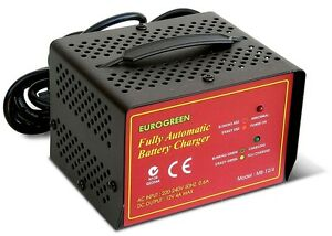 Ezicaddy 12 volt 4Amp Automatic Golf Battery Charger for Electric Golf Buggy