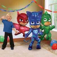 PJ Masks Birthday Party Giant Airwalker Foil Balloon 3 Characters in 1 Balloon