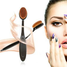 Cosmetic Makeup Brush Foundation Cream Powder Blush Concealer Toothbrush Oval GU