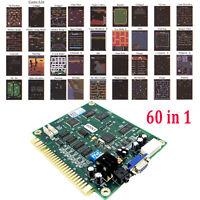 Classic 60 In1 Vertical Multi Arcade Game Board JAMMA Board CGA / VGA Output
