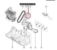 RENAULT SCENIC CLIO KANGOO 1.5 DCi K9K 8V - Crankshaft Sprocket for Oil Pump