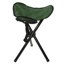Tall Lightweight Portable Folding Tripod Stool Pocket Slacker Chair Fishing