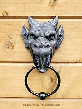 "GARGOYLE DOOR KNOCKER BY NEMESIS NOW. ""GROTESQUE"". DRAGON. #041"