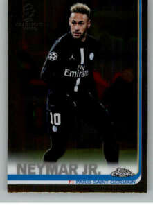 2019 Topps Chrome UEFA Champions League Soccer Base Singles (Pick Your Cards)