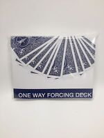 One Way Forcing Deck - Bicycle Poker Size Red or Blue Playing Cards