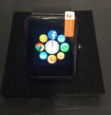 Black Latest GT08 Bluetooth Smart Watch NFC Wrist Phone Mate For iPhone Andorid