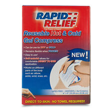 Rapid Relief Reusable Hot/cold GEL Compress Direct to Skin 6in X 9in Ra11369