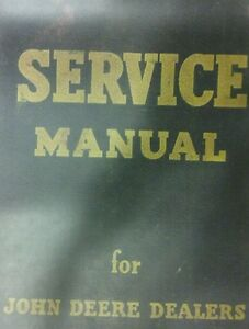 John Deere 720 Farm Tractor Master Service & Parts Manual Gasoline Two-Cylinder