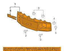 GM OEM-Grille Grill 22881262