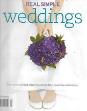 Real Simple Weddings Magazine Bridal Dresses Flowers Shoes Guests Invitations