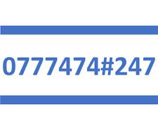 247 LEBARA SIM CARD GOLD EASY PLATINUM VIP MOBILE PHONE NUMBER 0777474#247