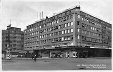 AK Bienne Quartier de la Gare Biel Bahnhofquartier Geschäfte Echt Foto Postkarte