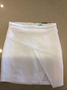 Kookai Size 38 Clarity Skirt Chrome Brand New With Tags HALF PRICE