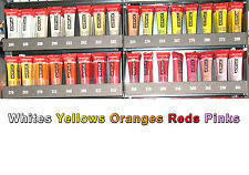 Amsterdam 20ml acrylic Whites Yellows Oranges Reds Pinks same low P+P any qty