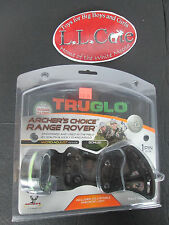 "Truglo Archer's Choice Range Rover 1 pin slider micro adjust .019"" bow sight"