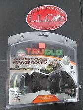"Truglo Archer's Choice Range Rover 1 pin slider micro adjust .019"" bow sight"