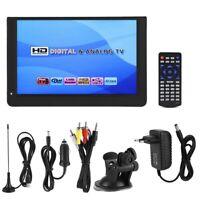LEADSTAR Fernsehen 1080P 12 Zoll DVB-T/T2 TV LED  Targbar Fernsehsender 16: 9 ✿