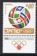 Israel estampillada sin montar o nunca montada 1967 SG387 pre torneo de fútbol olímpico