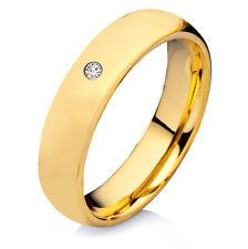 Eleganter Verlobungsring Trauring Freundschaftsring aus Tungsten mit Zirkonia