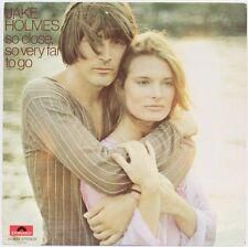 So Close So Very Far To Go  Jake Holmes Vinyl Record