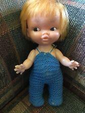 "Vintage Doll 8"" Made in Hong Kong"
