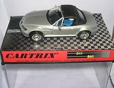 Cartrix 0101-g Slot car BMW Z3 Roadster Doux Top Argent MB