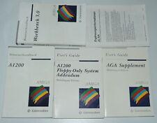 TOP COMMODORE AMIGA BÜCHER!!  A1200, Workbench 3.0, AGA Supplement, A1200 Floppy