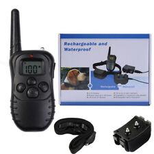 998DR Elettrico Formazione di addestramento Collare per Un Cane Dog LCD CARRICA