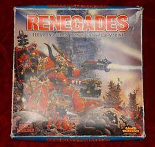 Games Workshop Warhammer 40k Renegades Board Game RARE OOP