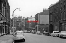 PHOTO  LONDON 1962 NW ON PANCRAS RD BY ST PANCRAS STATION